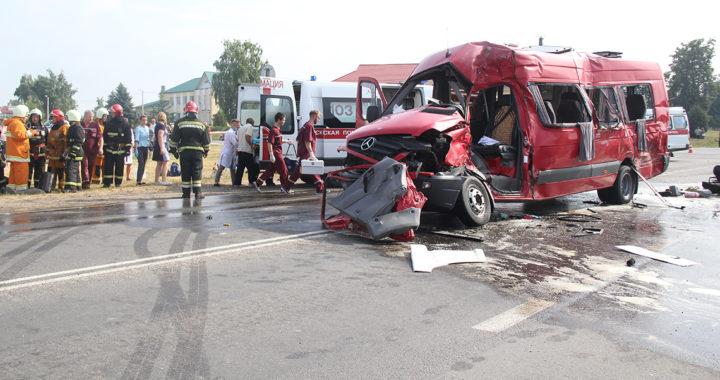 В центре Видомли 21 июня случилось жуткое ДТП. Обновлено