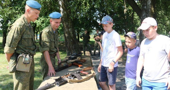 Военно-патриотический лагерь для школьниковорганизовали в Брестском районе