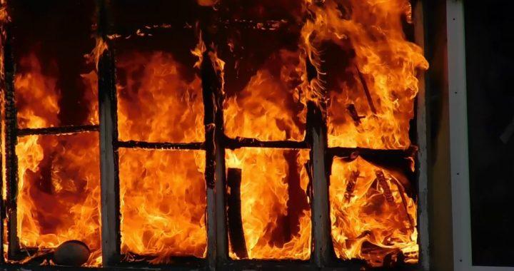 При пожаре в Каменецком районе погиб человек