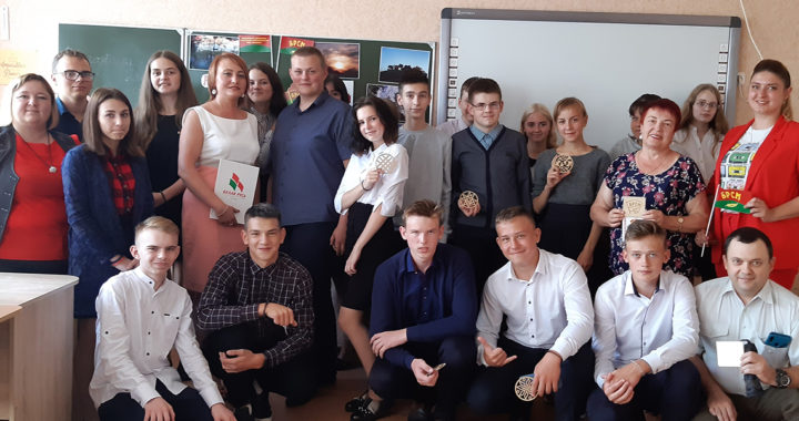 В средней школе №2 Каменца состоялся открытый диалог «Беларусь и Я»