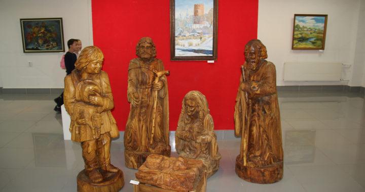 С 4 по 13 октября в Бресте работает выставка народного мастера Беларуси Анатолия Туркова