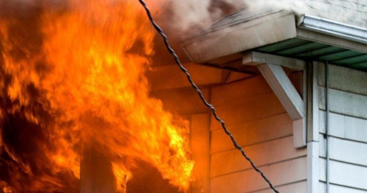 На пожаре в Каменце погиб хозяин дома