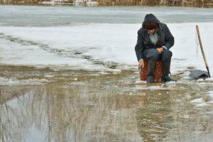 С первым льдом будь осторожнее!