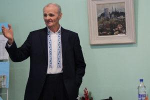 Васіль Жуковіч завітаў на літаратурна-музычную гасцёўню ў Каменцы