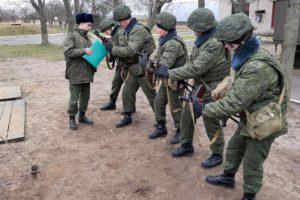 У зенитчиков — занятия по боевой готовности