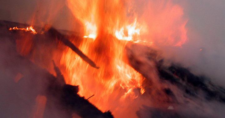 Беспечность стала причиной пожара в Костарях