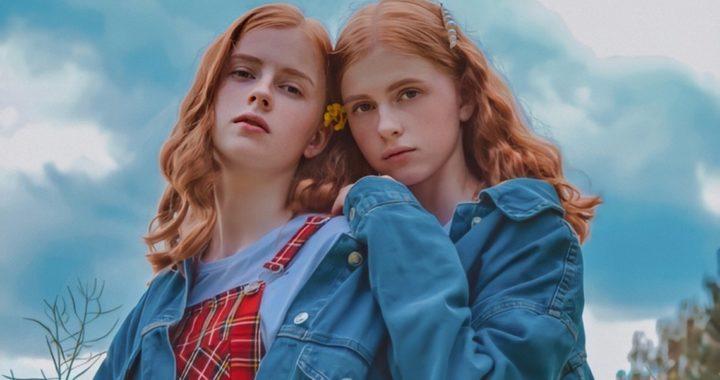 Рыжеволосые сестры-близнецы из Высокого стали моделями агентства Сергея Нагорного