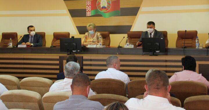 Основные тезисы сессии Каменецкого райсовета депутатов