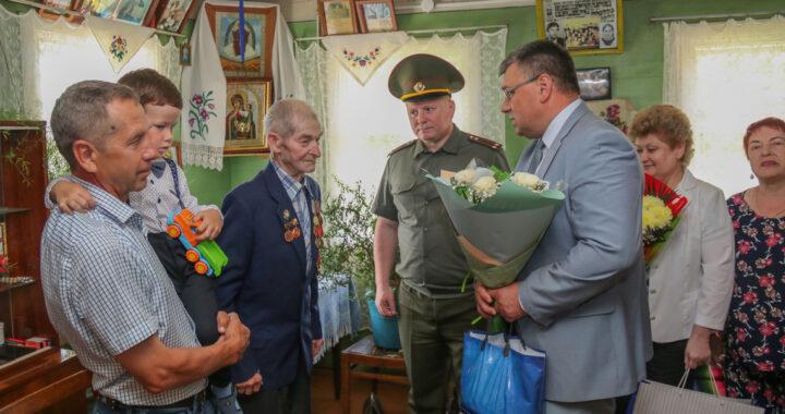 Михаил Федорович Лось из Индычей отпраздновал юбилей