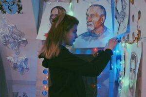 Ванэса Карпава з Белавежскага працуе 2D-мастаком у ІТ-кампаніі ў сталіцы