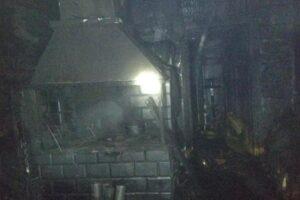 На пожаре в Пашутской Буде погиб хозяин дома