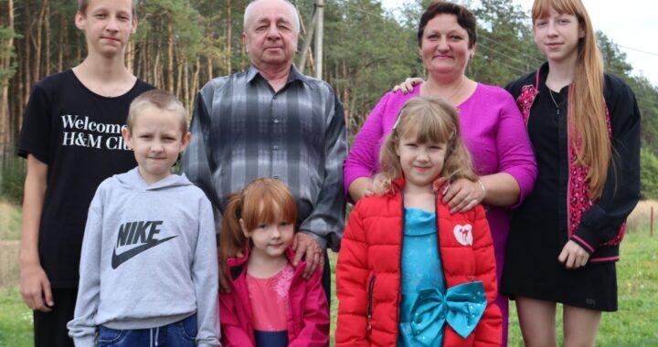 Великолепная шестерка в семье Ирины и Виктора Степновых