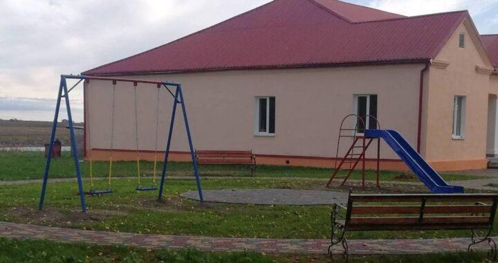 Детская площадка появилась в Долбизно