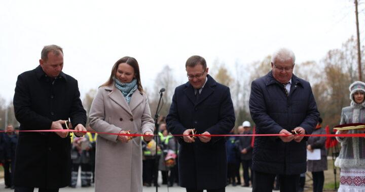 В Каменецком районе открыли объездную дорогу к пункту пропуска «Песчатка»