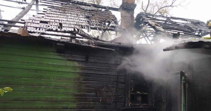 При пожаре в Копылах никто не пострадал