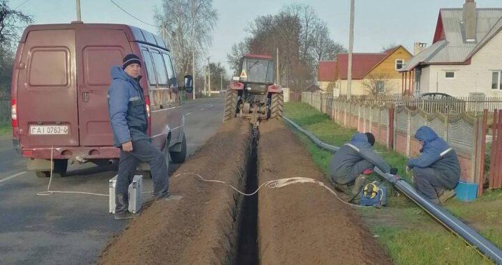 В Долбизно началась газификация