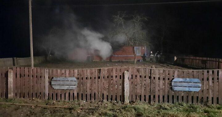 В Каменецком районе в воскресенье горели два дома