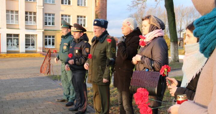 В Каменце почтили память погибших во время Великой Отечественной войны