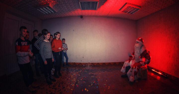 Первый новогодний квест для детей из Бреста провели работники Каменецкого районного отдела культуры