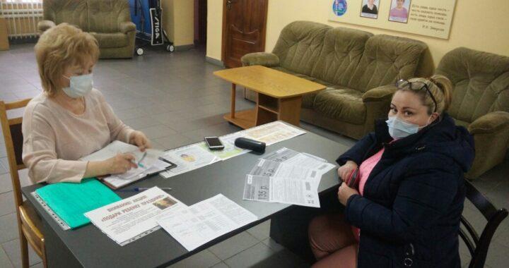 Красный Крест поддержал нуждающихся граждан в Каменецком районе