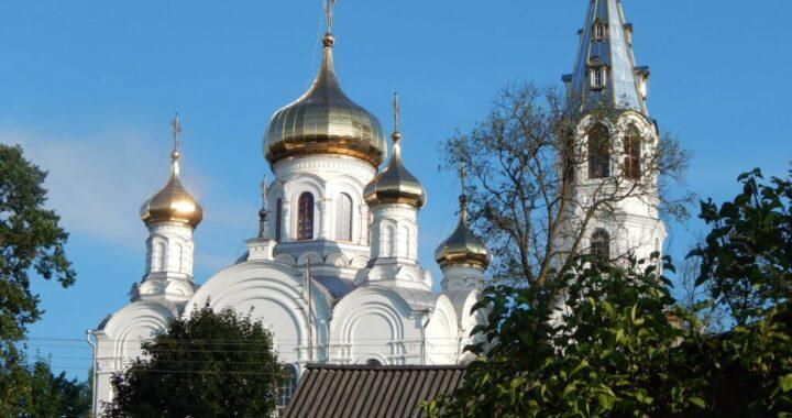 Расписание богослужений в Свято-Симеоновской церкви г. Каменец