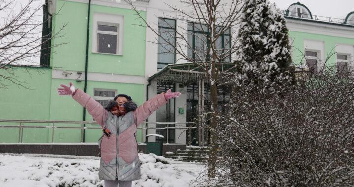 Зимний фоторепортаж: так снежно уже давно не было в Каменце