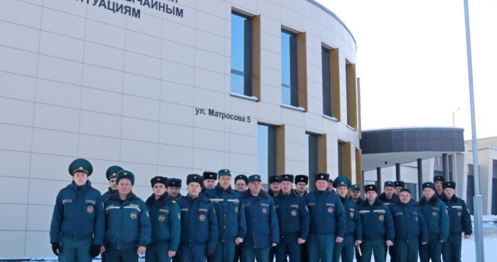 К профессиональному празднику награждены лучшие сотрудники Каменецкого РОЧС