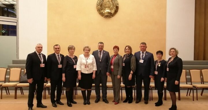 Каменецкие делегаты Всебелорусского народного собрания в Минске
