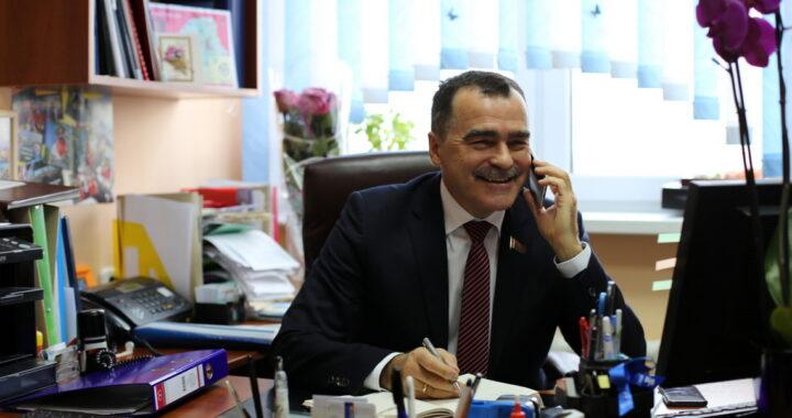 Член Совета Республики Национального собрания Республики Беларусь Александр Карпицкий проведет личный прием граждан