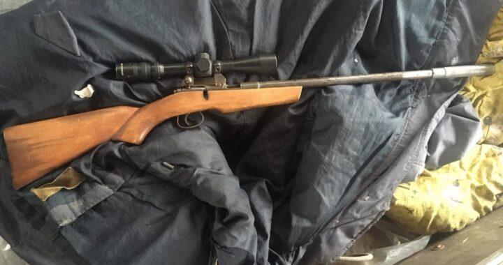 В Каменецком районе у сельчанина изъяли оружие и боеприпасы