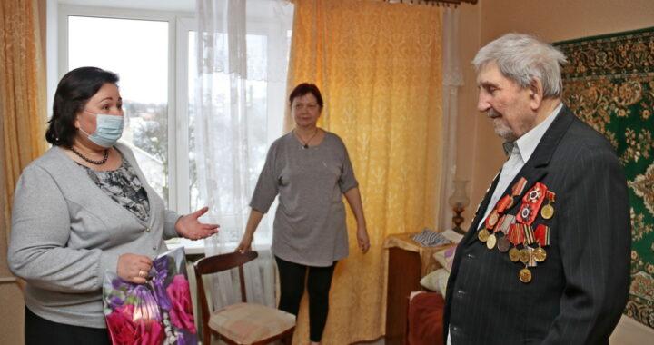 95-летие празднует каменчанин ветеран Великой Отечественной войны Константин Прокофьевич Печко