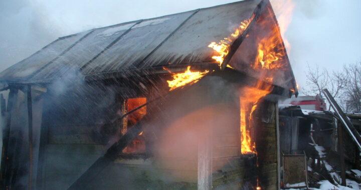 За январь в Каменецком районе зарегистрировано три пожара