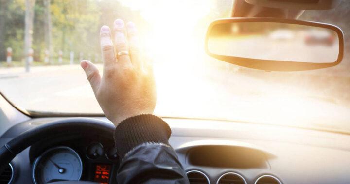 Осторожно:  утренние туманы и слепящее солнце могут спровоцировать ДТП