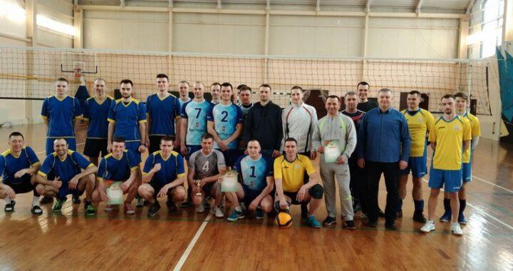 Известны чемпионы по волейболу среди предприятий и организаций района