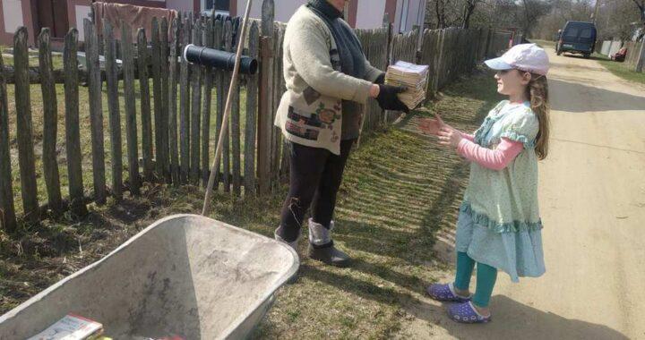 Школьники в Каменецком районе собрали во время акции более 40 тонн макулатуры