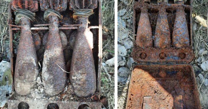 В Каменецком районе обнаружены минометные мины