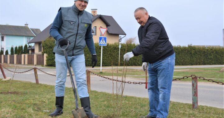 Сезон субботников стартовал в Беловежском