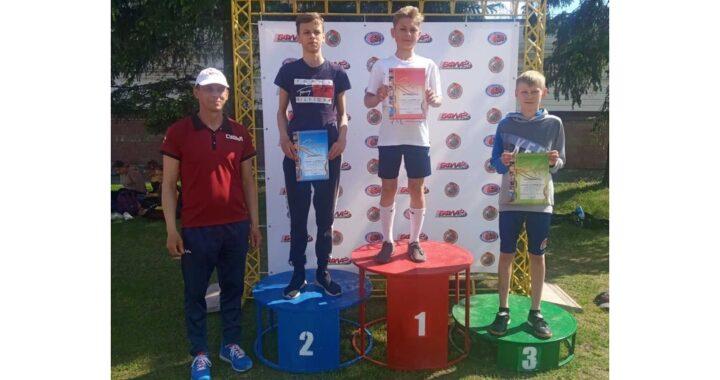 Команда Каменецкого района заняла 1 место в областной спартакиаде школьников по легкой атлетике