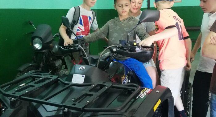 Дети побывали на экскурсии на пограничной заставе «Каменюки»