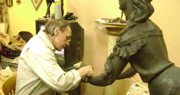 Выставка скульптора, нашего земляка, Александра Лыщика откроется во Дворце искусства в Минске
