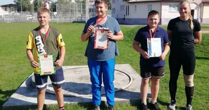 Спортсмены из Каменецкого района заявили о себе на турнире по легкой атлетике